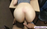 Babe railed by pervert pawn dude in his