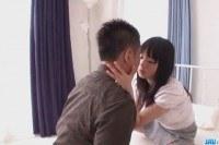 Hazuki gets payed to fuck like a bimbo