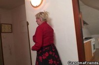 Repairmen fuck busty grandma