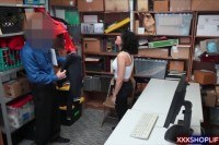 Shoplifter got caught and gets fucked