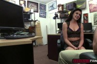 Fuck in the pawnshop with kallie joe and