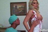 Nurse brooke haven fucks hard