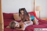 Massage starring celeste star and adriana