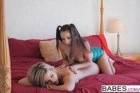 Massage starring celeste star and adriana