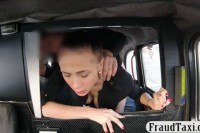Amateur babe screwed by pervert driver in