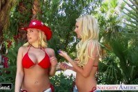 Aaliyah love and kagney linn karter share