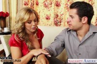 Cougar amber lynn bach taking a large shaft