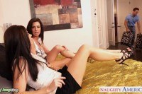 India summer and veronica avluv share a big
