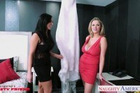 Babes audrey bitoni and katie kox gets big
