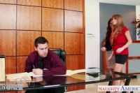 Office babes darla crane and syren de mer
