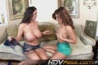 Super hot lesbian sex fun