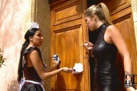 Kate and eva parcker maid needs stern