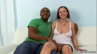 Wife takes black cock creampie