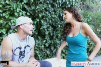 Brunette kortney kane fuck outdoors