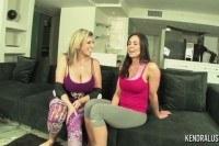 Lust threesome with sara jay