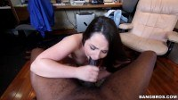 Cock makes that white girl pussy pop