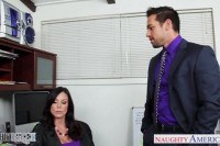 Brunette kendra lust fucking in the office
