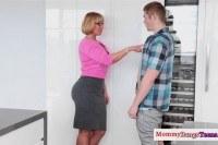 Melanie monroe helping teens fuck