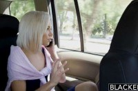 Blonde girlfriend kacey jordan cheats with