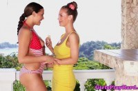 Model babes exotic lesbian love