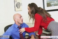 Office babe dani daniels riding cock