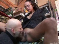 Milf with glasses great sex