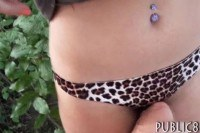Amateur eurobabe screwed in the woods for