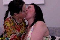 Young lesbians licking out each other
