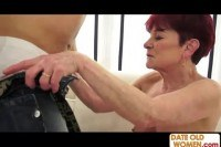Grandmother fucked hard