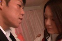 Teen asian licks huge dong