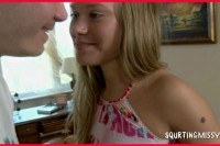 Teen squirting debut