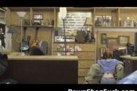 Dolly little sucking shlong in pawn shop