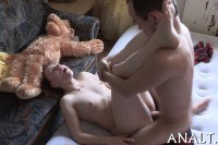 Rear pummeling for sweet teen