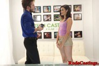 Teen restrained and gagged at casting