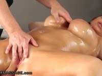Exhusband cums inside wife