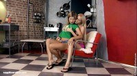Twosome by sapphic eroticalesbian lovewith