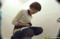 Asian sluts pee in public