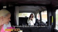 Taxi slim minx gets fucked with strap on by