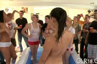Drunken college sex party