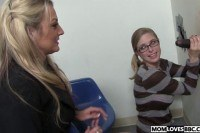 Sindy lange and penny pax at the bbc glory