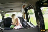 Driver s his damn blondie babe customer on