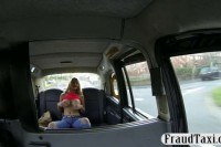 Jugs amateur blonde passenger nailed for