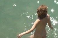 Nice tits on public beach