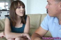 Teens hairy muff creamed