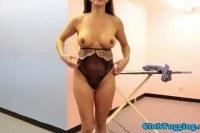 Stepmom tugging a young cock pov