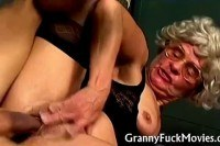 Hardcore plus granny sex