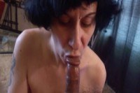Mature chick fucked and creampied
