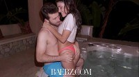 Adria rae and james deen intense hot tub