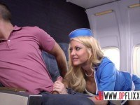 Stewardess joins the mile high club