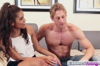 Teen gabriella ford fucks a neighbors cock